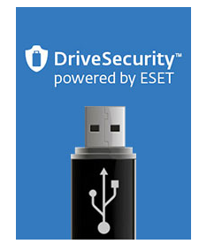 DriveSecurity powered by ESET